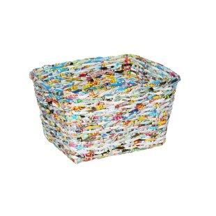 Screen Gems Steel 5.88 Gallon Waste Basket (Set of 12)