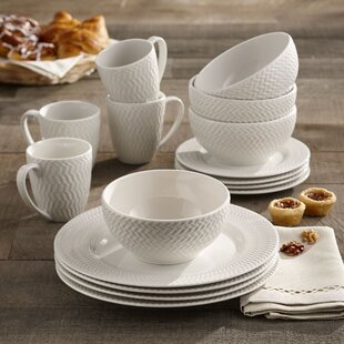 Bridgette 16 Piece Dinnerware Set