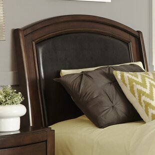 Loveryk Twin Leather Upholstered Panel Headboard By Darby Home Co