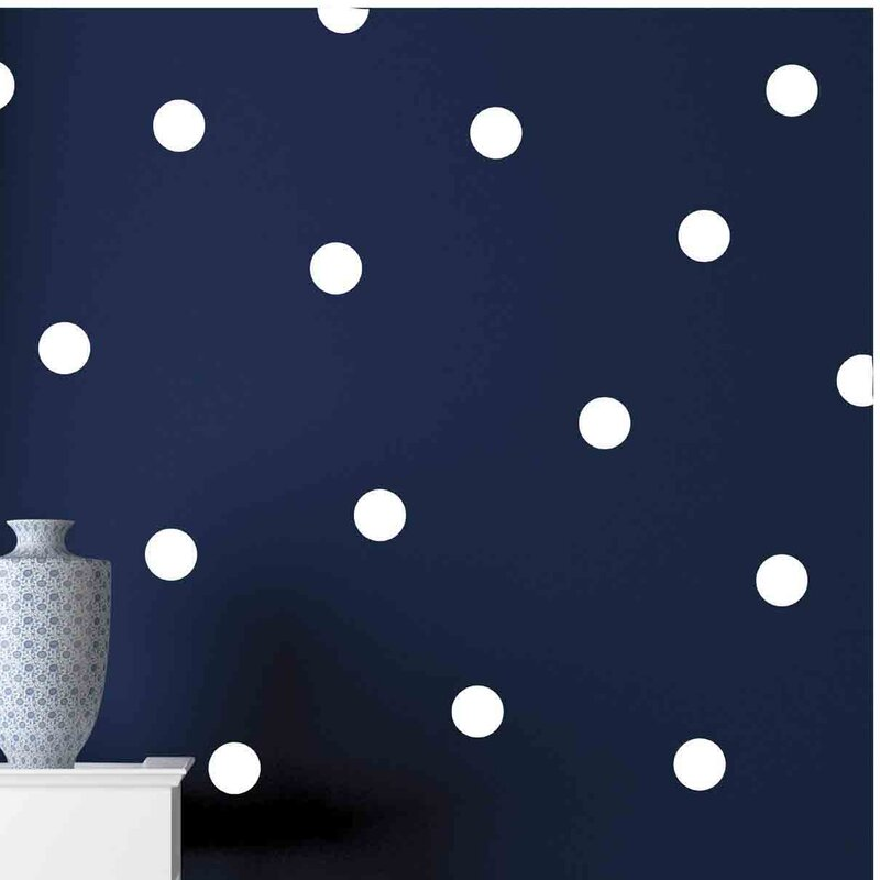 Owl Hills Polka Dots Wall Decal Wayfair