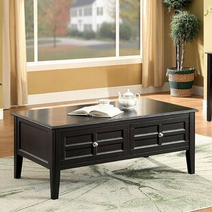 Carmon Coffee Table with Storage by Charlton Home
