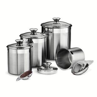 Gourmet 8 Piece Kitchen Canister Set