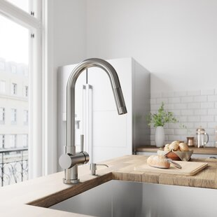 Pull Down Kitchen Faucets You Ll Love Wayfair