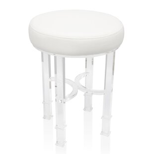 Urban Modern Acrylic Stool by Wildon Home®