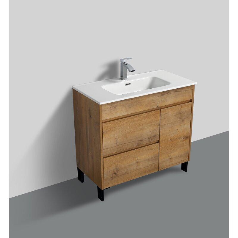 Union Rustic Chumasero 24 Single Bathroom Vanity Set Reviews Wayfair