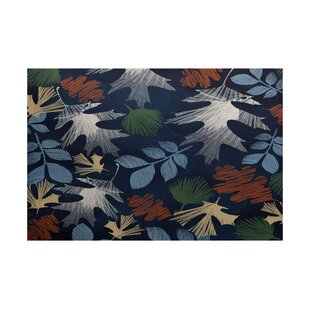 Brookfield Navy Blue Indoor/Outdoor Area Rug