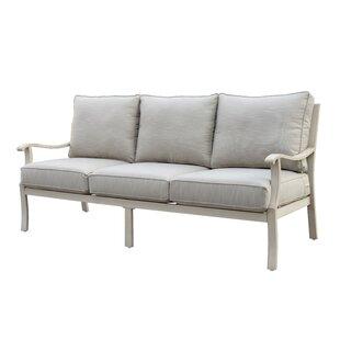 Caressa Aluminum Outdoor Sofa
