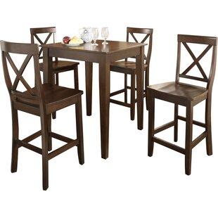 Crosley 5 Piece Pub Table Set