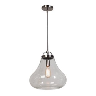 Weatherspoon 1-Light Schoolhouse Pendant by George Oliver