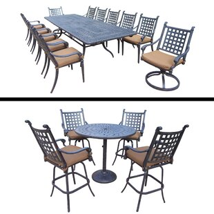 Arness 18 Piece Bar Height Dining Set by Darby Home Co