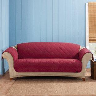 Soft Suede Box Cushion Sof..