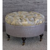 Amal Tufted Cocktail Ottoman by Eastern Accents