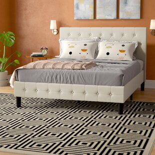 Shopping for Simpson Upholstered Platform Bed by Wrought Studio Reviews (2019) & Buyer's Guide