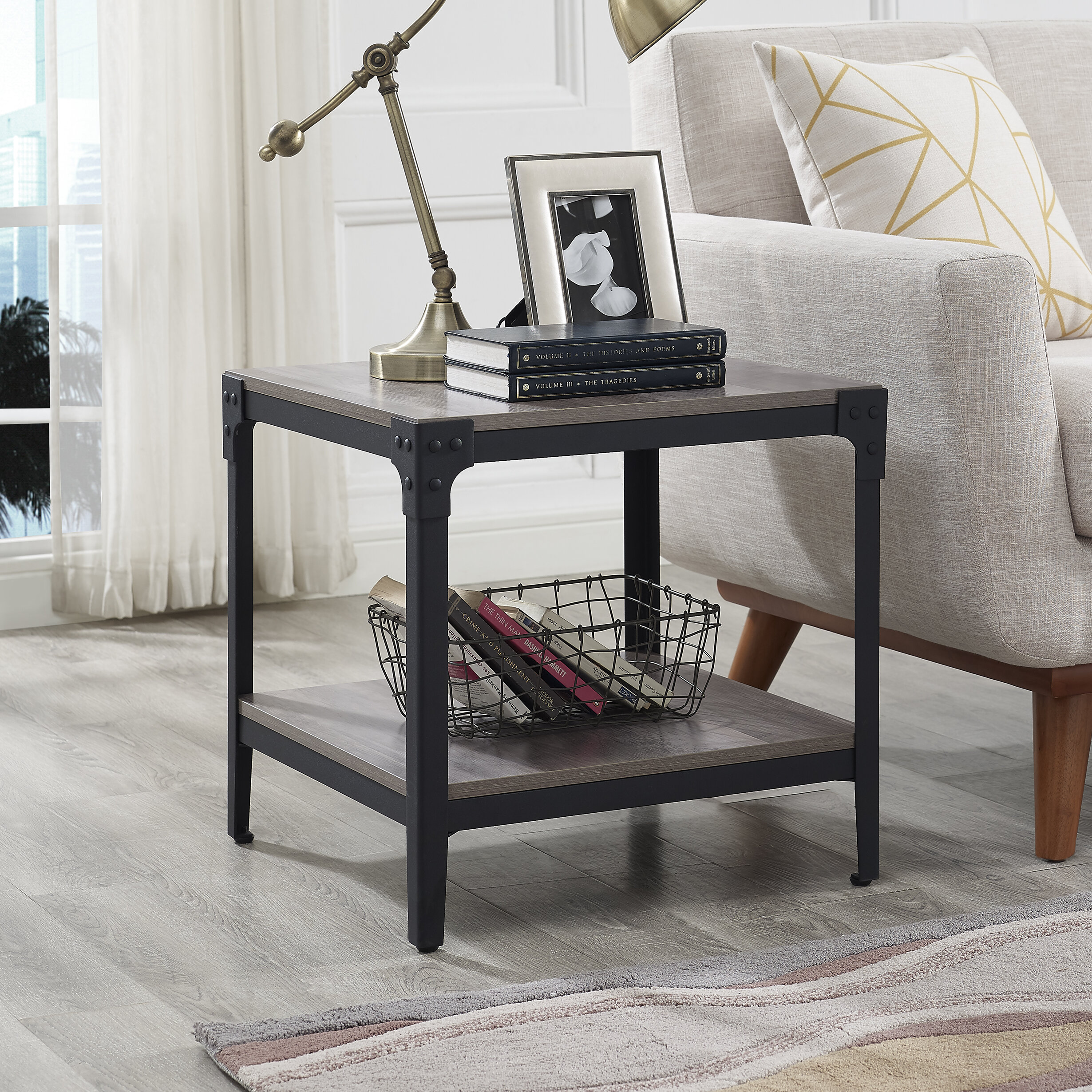 ff84e5ca619 Grey Wash Side Table