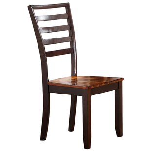 Lannon Solid Wood Dining Chair Alcott Hill