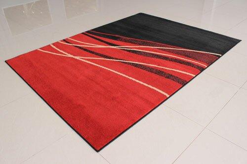Orren Ellis Olatayo Power Loom Orange Rug Wayfair