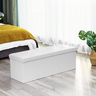Gables Storage Ottoman by Wins..