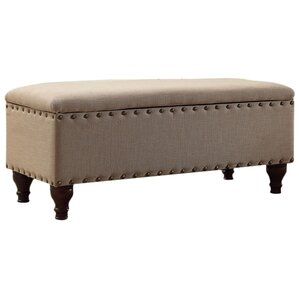 Travers Upholstered Storage Bench