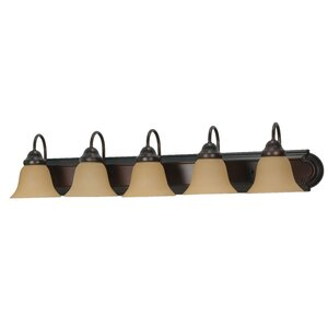 Gurney 5-Light Vanity Light