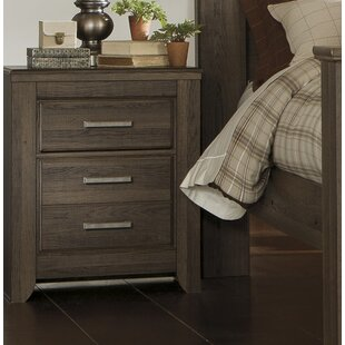 Granite Range 2 Drawer Nightstand