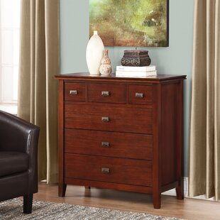 Gosport 6 Drawer Chest by Three Posts