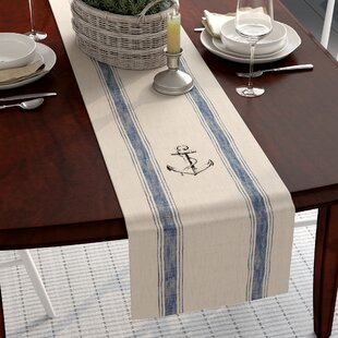 Ingersoll Anchor Feed Sack Table Runner