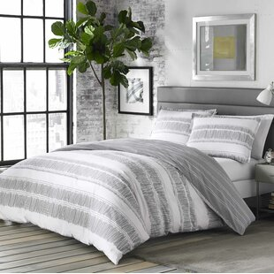 Barger 100% Cotton Reversible Comforter Set