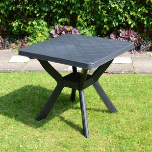 Livia Plastic Dining Table By Sol 72 Outdoor