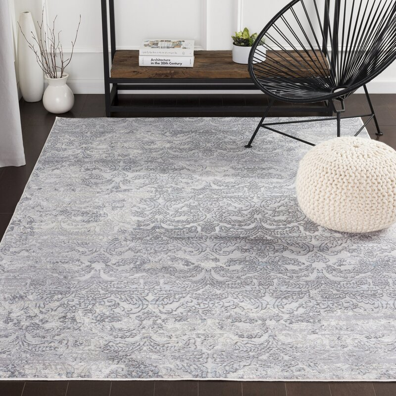 Greyleigh Framingham Abstract Gray Blue Beige Area Rug Reviews Wayfair
