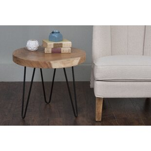 Read Reviews Alphonso End Table by Union Rustic