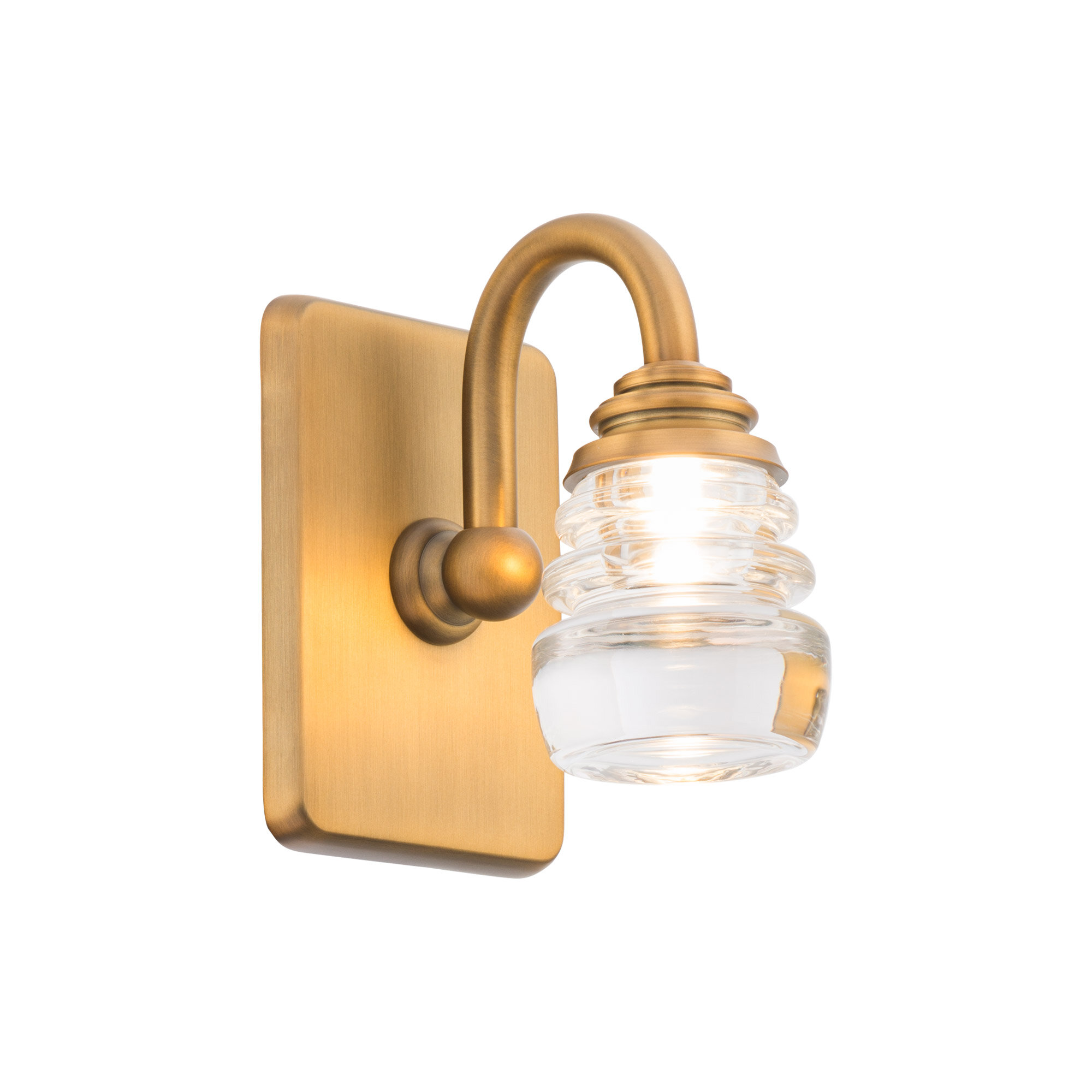 Armed Sconce Led Wall Lights You Ll Love In 2021 Wayfair