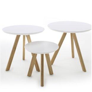 Tenbury 3 Piece Coffee Table Set By Fjørde & Co