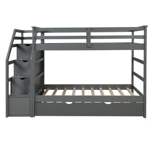 Moreira Twin over Twin Bunk Bed with Trundle