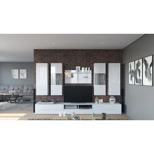 Eastgate 8 Piece Entertainment Center Set for TVs up to 65