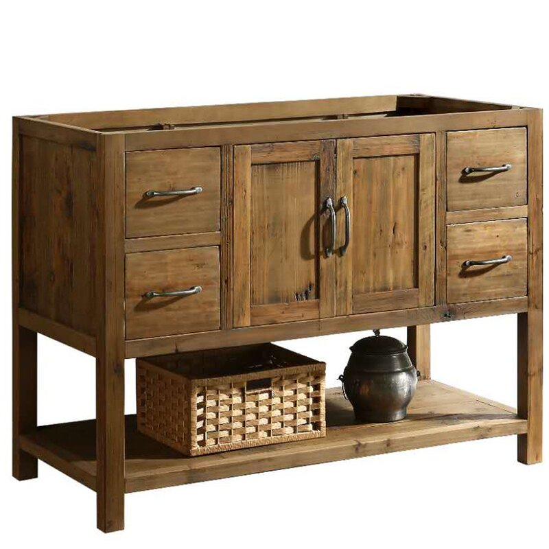 What Is Best Vanity Base Under 999 99 Dcor Design Austin 47 Single Bathroom Vanity Base Only In Walnut