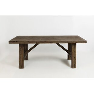 Gracie Oaks Odion Solid Wood Dining Table