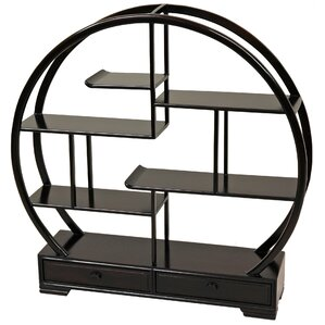 Mingei Lighted Display Stand by Oriental Furniture
