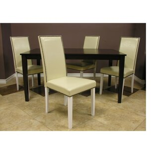 Blazing 5 Piece Solid Wood Dining Set Warehouse of Tiffany