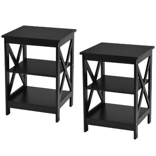 Deidamia 3-Tier Nightstand (Set of 2)