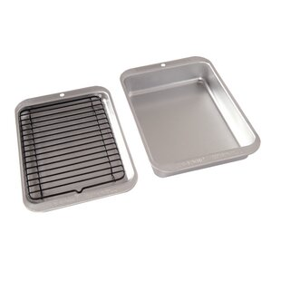 Compact Ovenware 3 Piece Grill and Bakewqare Set