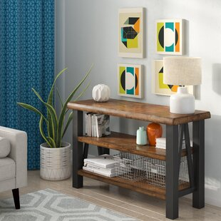 Savings Lennert Console Table By Union Rustic