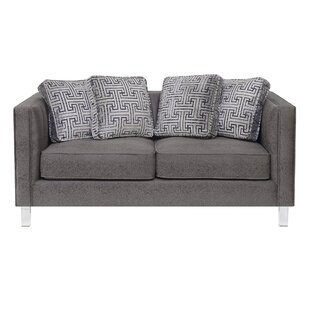 Fenn Channeled Loveseat by Ivy Bronx