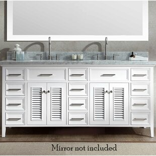 Hamil Modern 73 Double Bathroom Vanity Set by Highland Dunes
