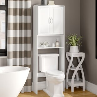 Jorge 24.38 W x 71.5 H Over the Toilet Storage by Zipcode Design