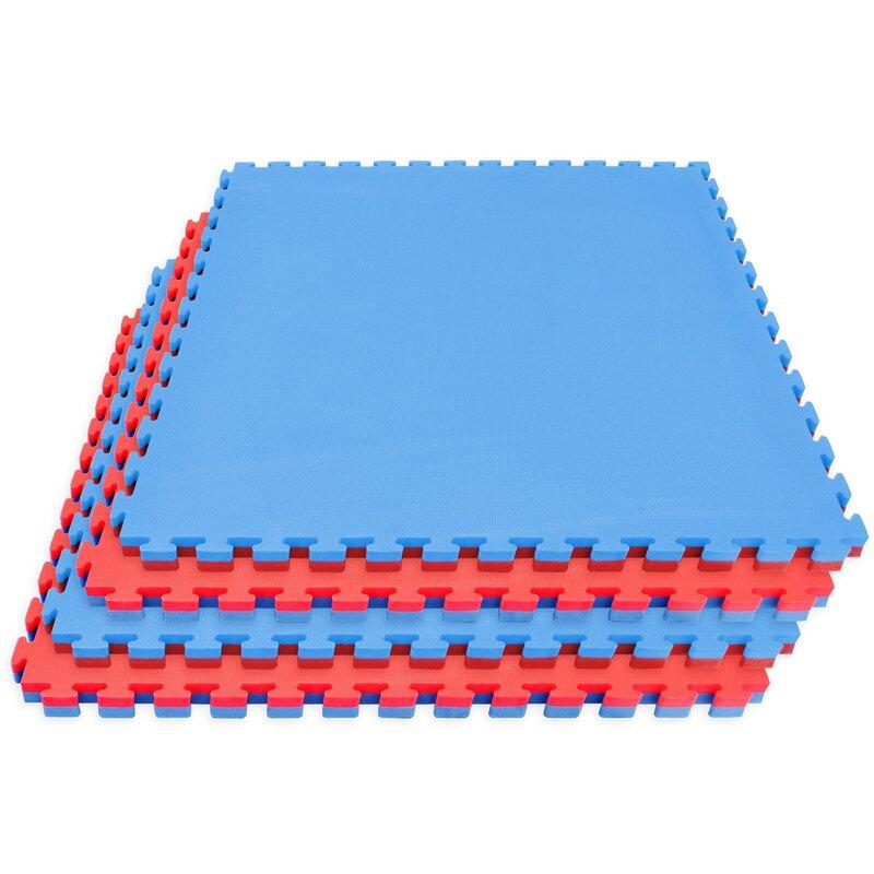 Sorbus Sivan Reversible Interlocking Puzzle Tiles Floor Mat Wayfair