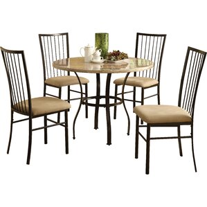 Julienne 5 Piece Dining Set by Loon Peak