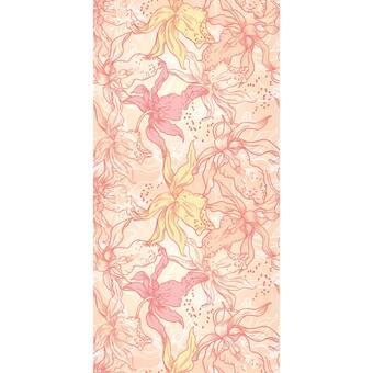 Bay Isle Home Han Flat Palms 48 L X 24 W Paintable Peel And Stick Wallpaper Panel Wayfair Ca