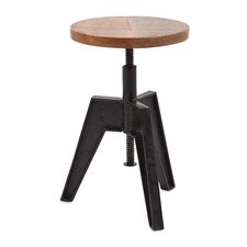 Adjustable Seat Stool by Woodland Imports