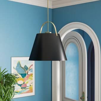 Williston Forge Scruggs 1 Light Single Bell Pendant Reviews Wayfair