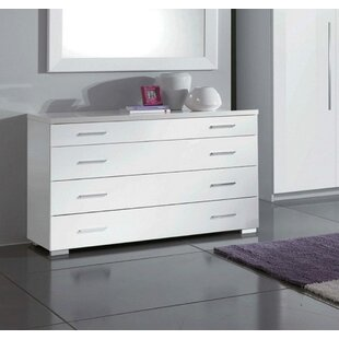 Cedrick 4 Drawer Dresser